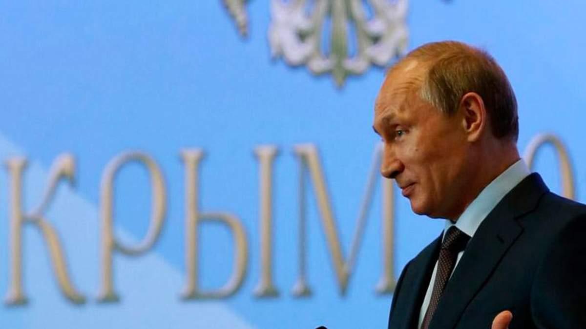 Путін має план легалізації анексії Криму, — політолог