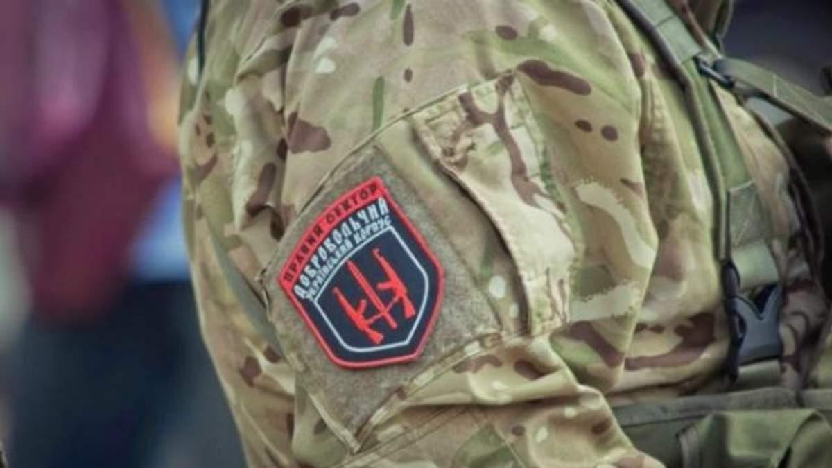 """В """"Правом секторе"""" рассказали о состоянии бойцов, причастных к стрельбе в Мукачеве"""