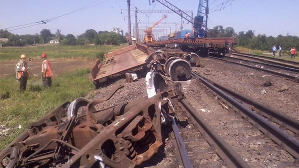 На Миколаївщині перекинувся поїзд
