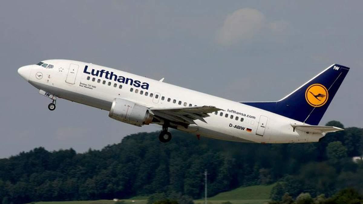 Крупнейший немецкий авиаперевозчик не хочет летать в Россию