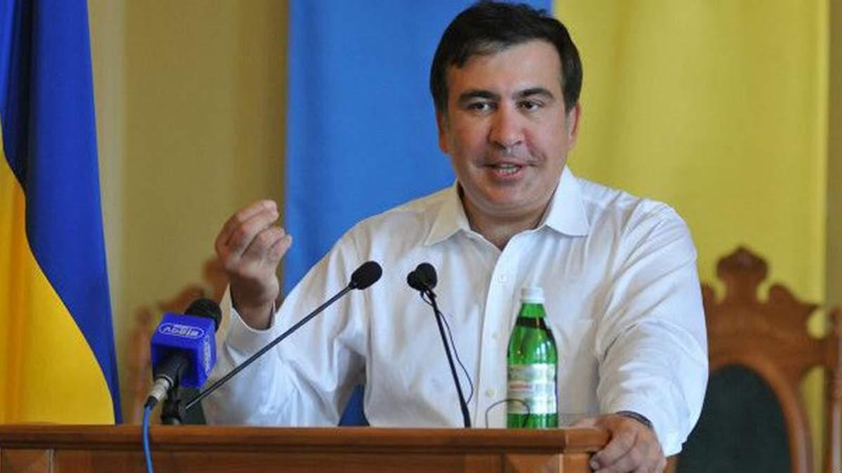 Саакашвили пригрозил тюрьмой главе облсовета и нардепу от Порошенко