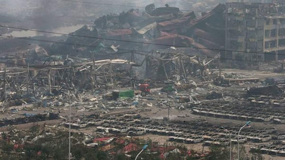У районі згорілого складу в Китаї прогримів новий вибух, — ЗМІ
