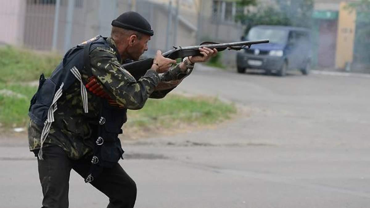 Терористи стріляли менше, але без забороненої зброї не обійшлось
