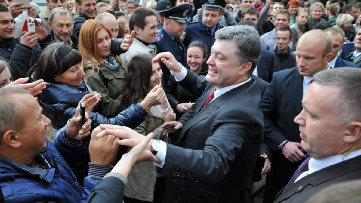 Большинство украинцев все надежды возлагают на Президента