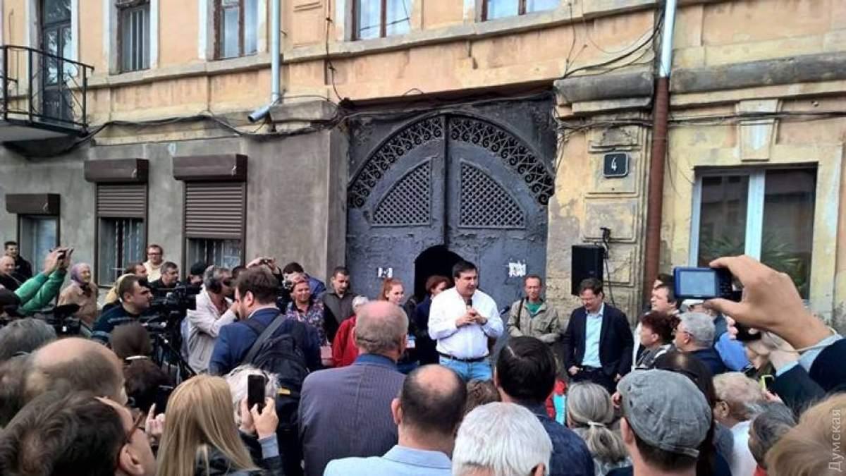 Саакашвили агитирует за Боровика