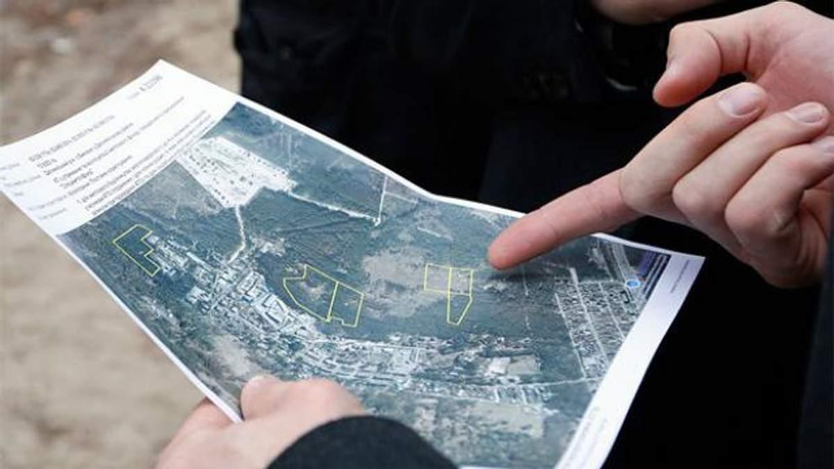 Інформація про земельні ділянки