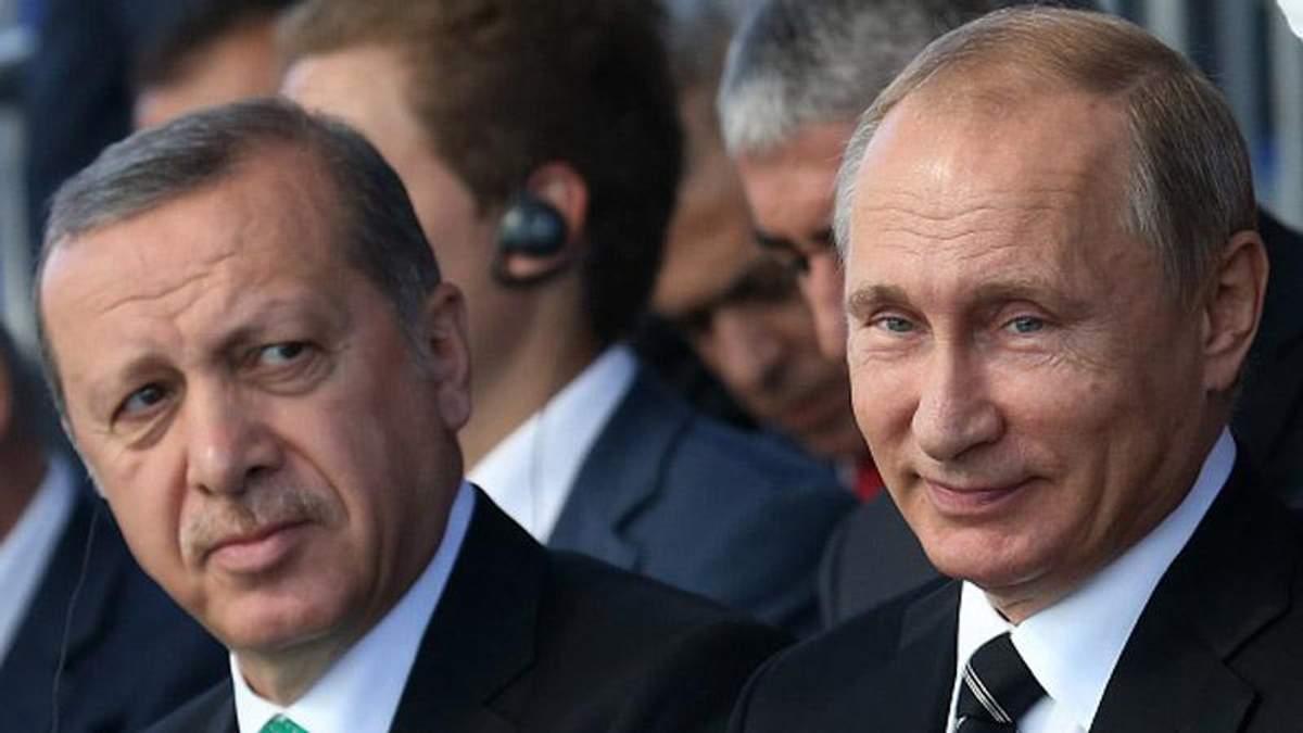 Путину пригрозил Президент Турции