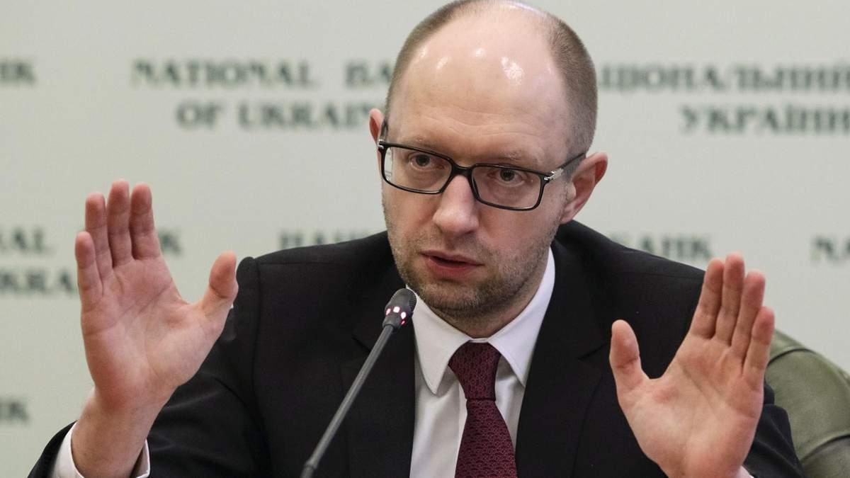 У Раді збирають підписи за відставку Яценюка