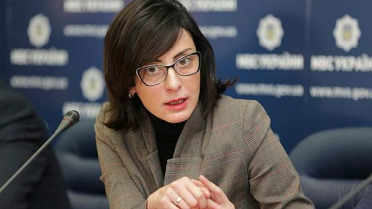Деканоїдзе просить Авакова звільнити голову київської поліції