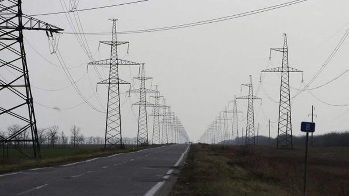 Електроопори на Херсонщині