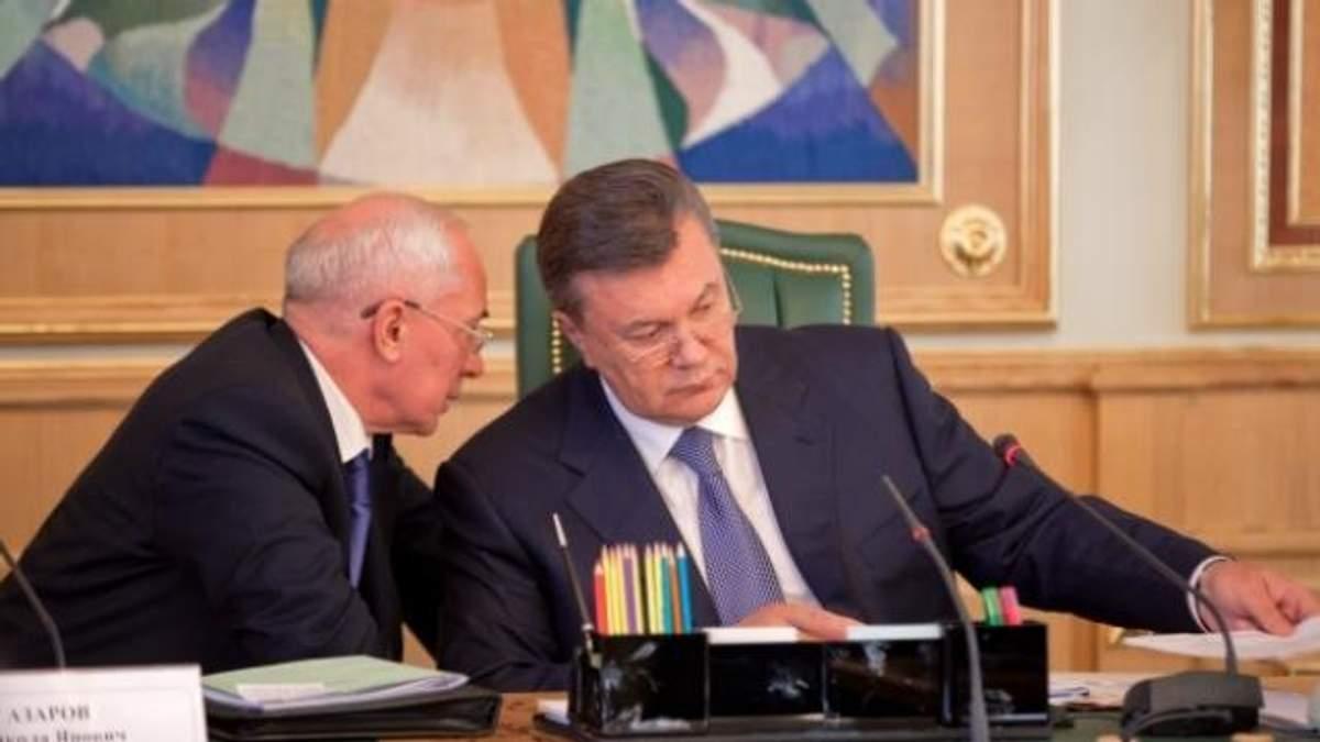 Янукович і Азаров нарешті залишились без українських пенсій