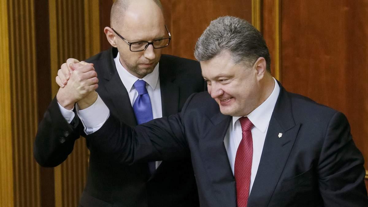 Вистава із відставкою Яценюка — стратегічна поразка Президента