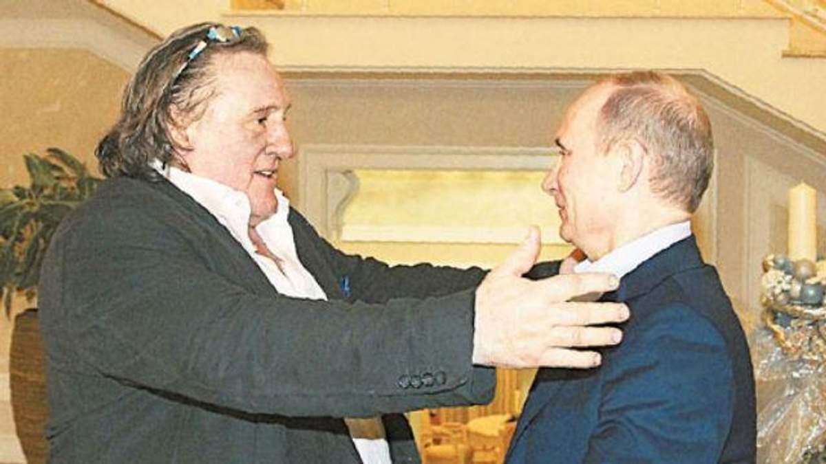 Депардьє і Путін