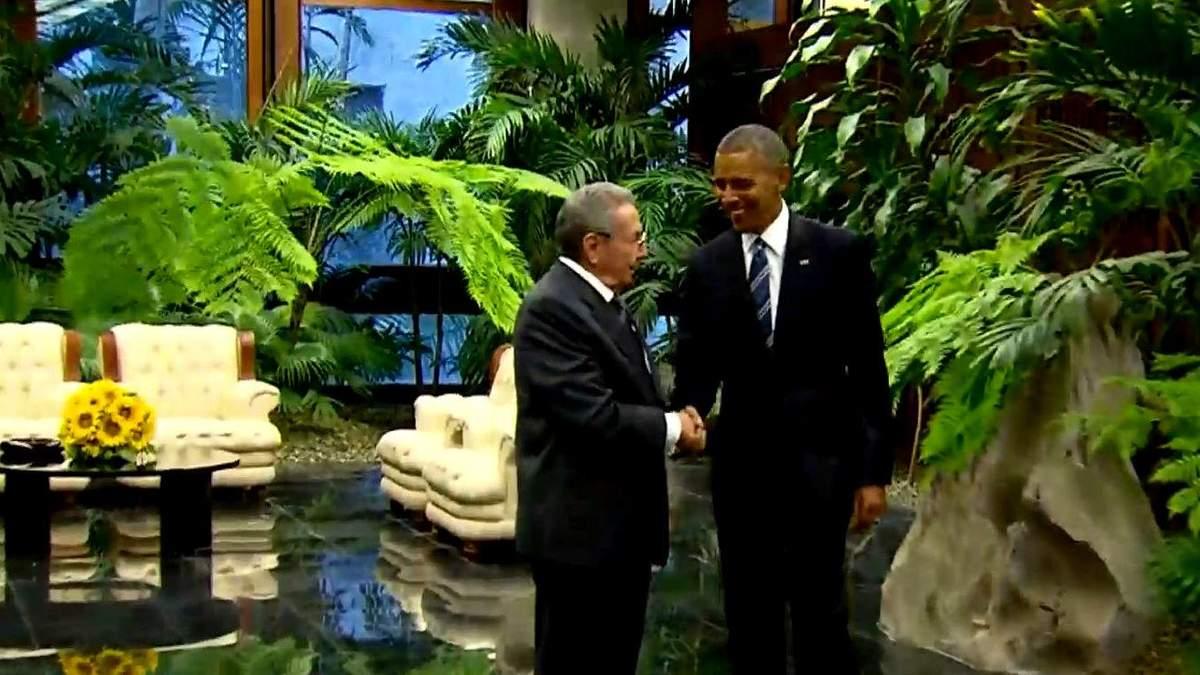 Історичний візит: про що домовились Обама та Кастро