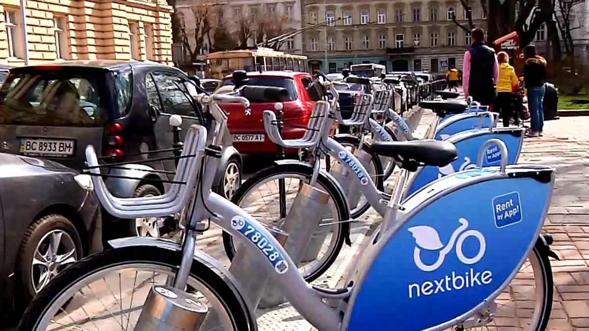 В Україні запрацювала перша система муніципального велопрокату