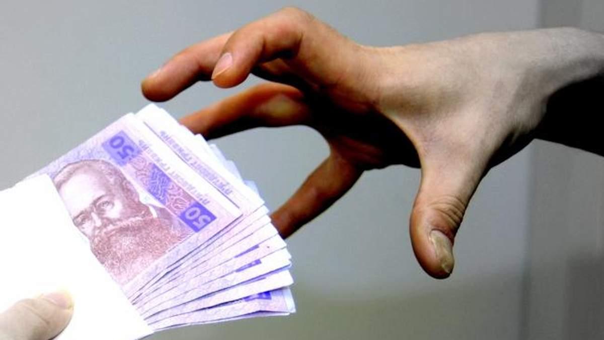 Эксперты определили средний размер взятки в Украине
