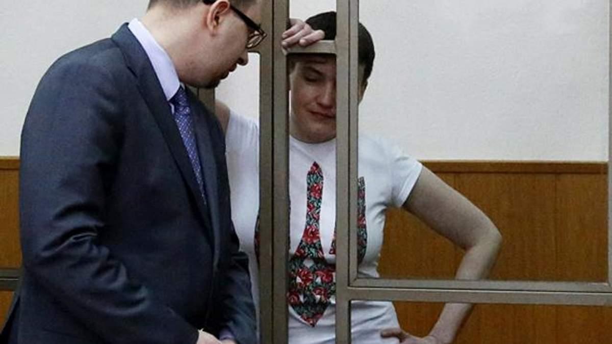 Стан Савченко погіршується: тюремники збираються годувати її силоміць