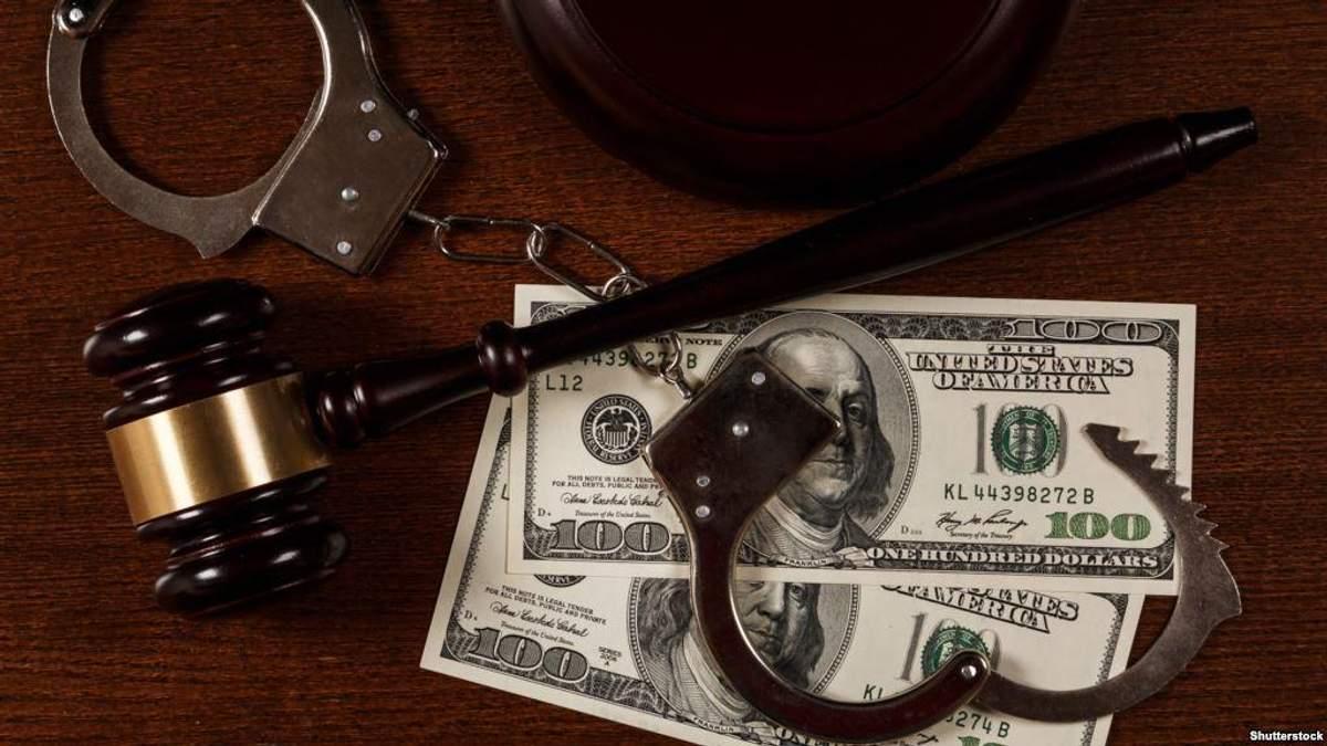 В Тернополе трех прокуроров задержали за взяточничество