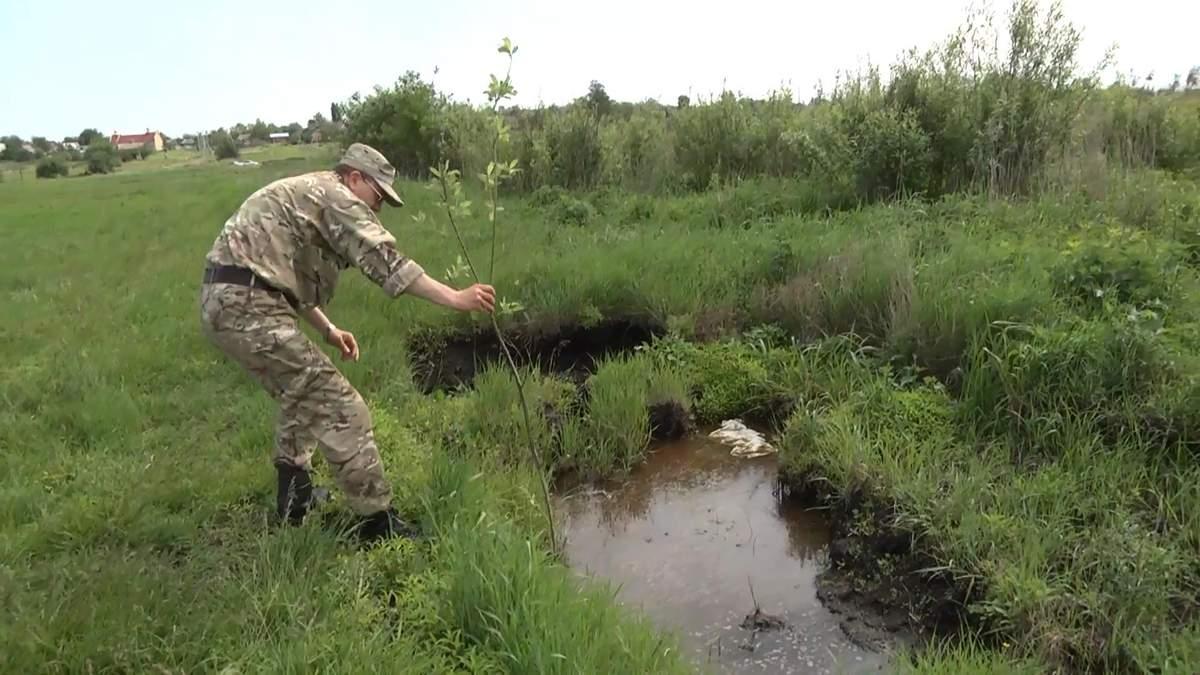 На Київщині бійці АТО замість обіцяної землі отримали болото