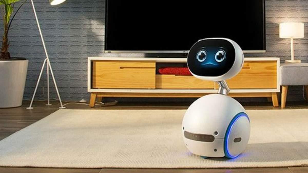 Asus представила неймовірно милого та корисного домашнього робота