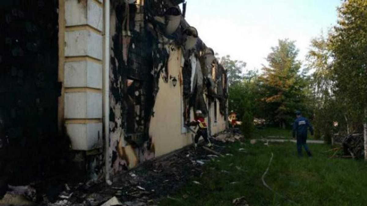 Пожар в доме престарелых: владельца пансионата освободили из-под стражи