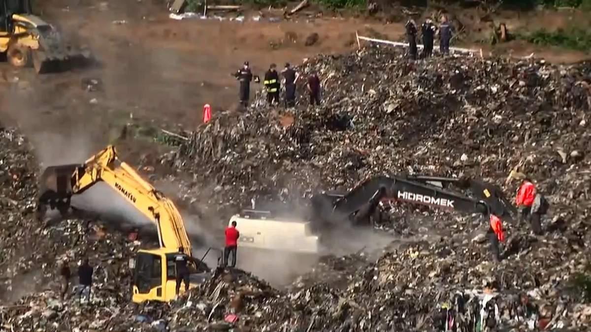 Трагедия на Грибовицкой свалке: нашли три тела