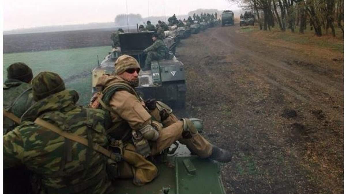 Колона російських військових