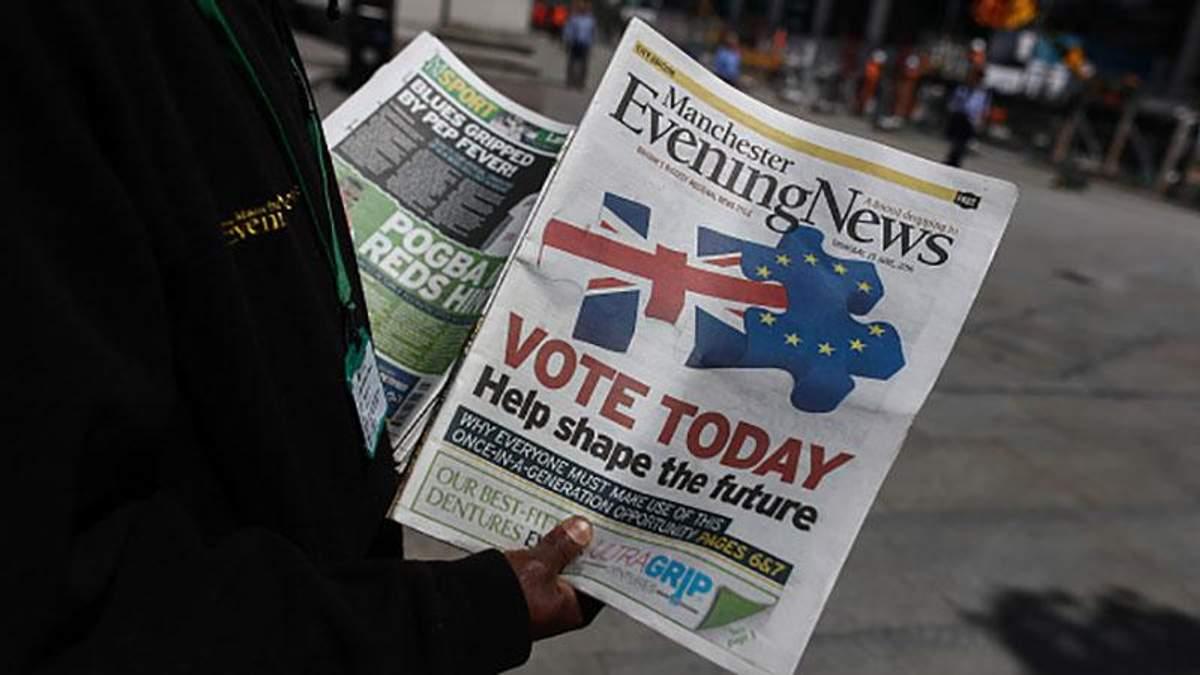Україні прогнозують негативні наслідки через Brexit