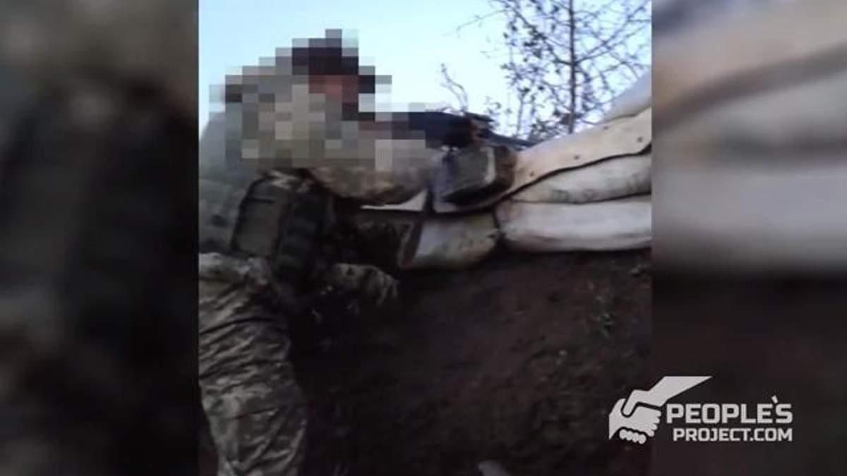 Українські військові відбивають атаку терористів