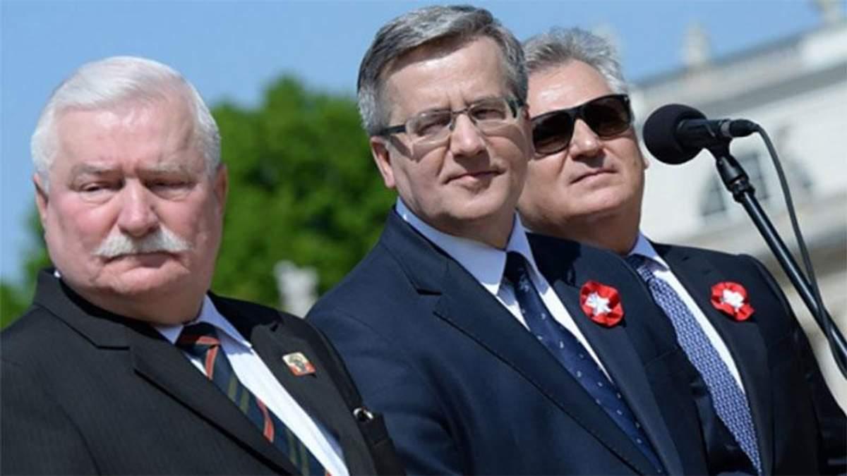 Польские экс-президенты попросили прощения у украинцев