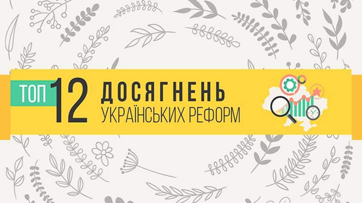 ТОП-12 найуспішніших реформ в Україні