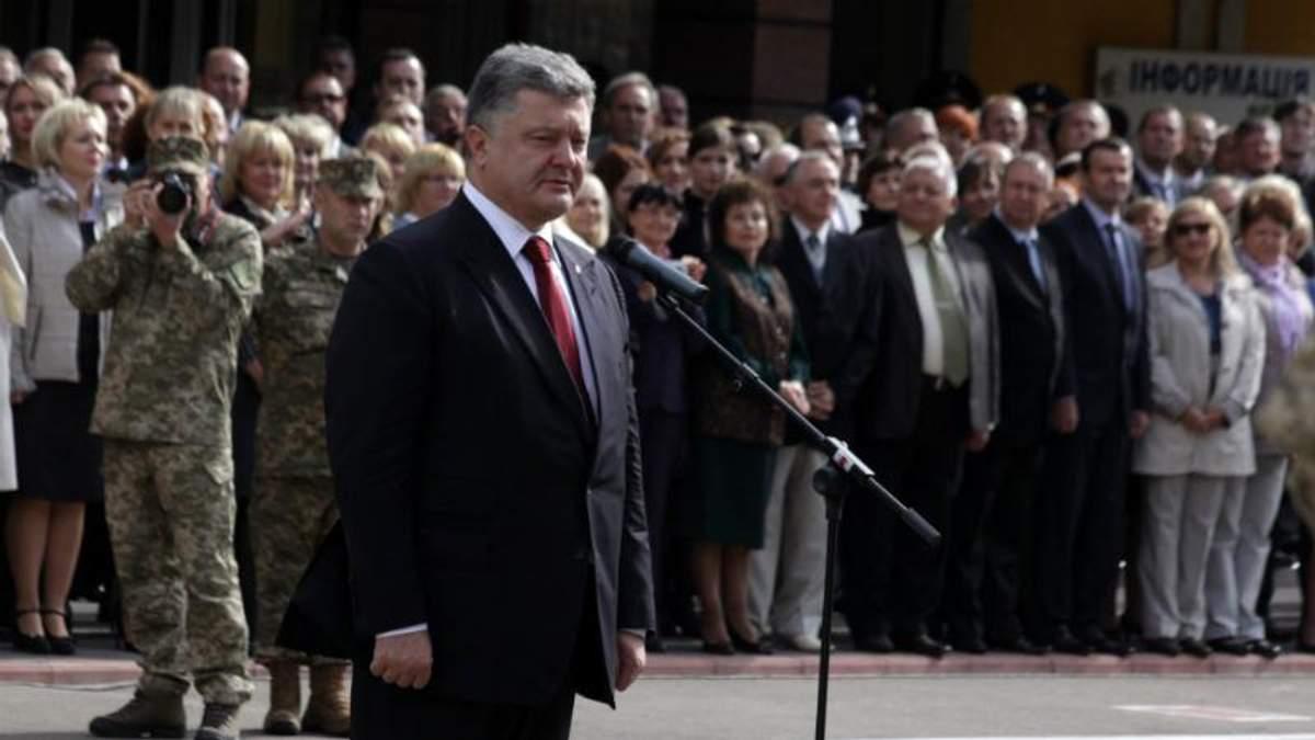Ни на одно публичное мероприятие Порошенко не приходит без охраны