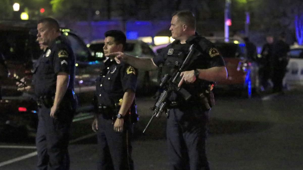 Ужасная перестрелка с полицией в Далласе: появилось видео происшествия (18+)