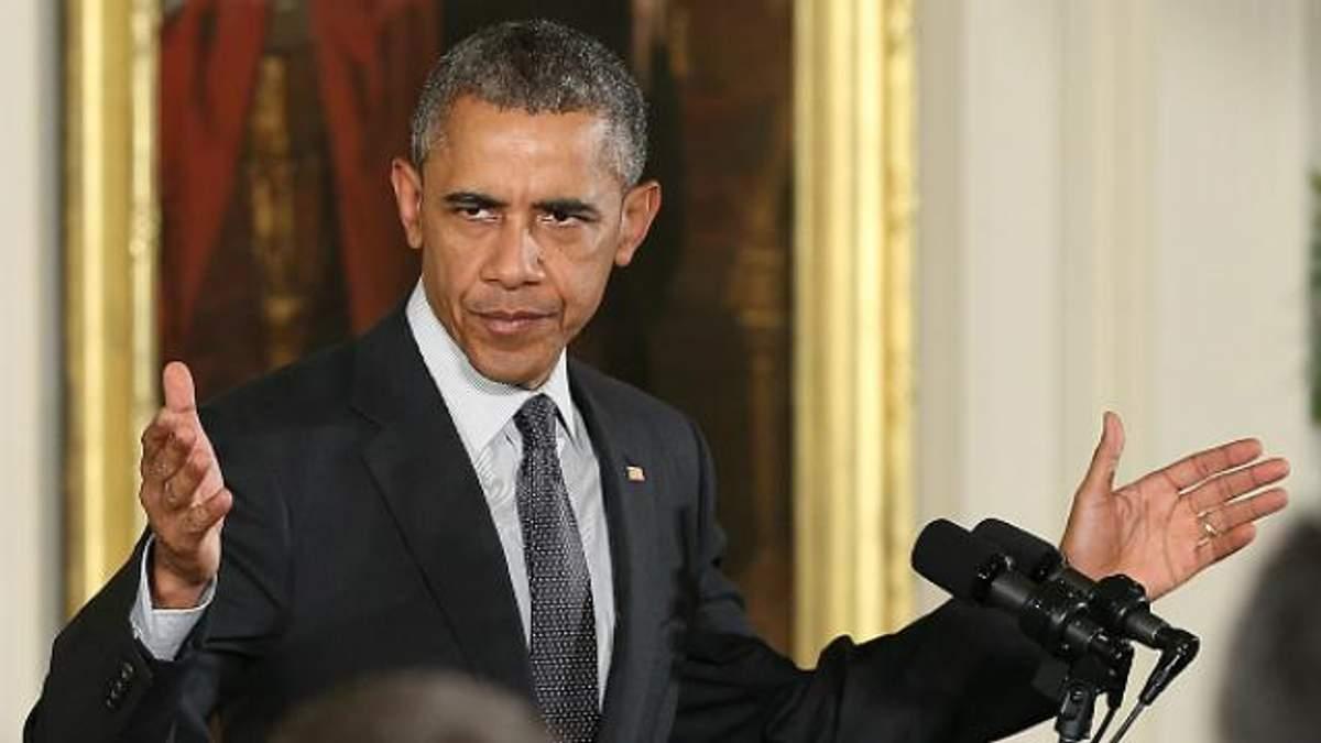 Обама закликає не знімати санкцій з Росії
