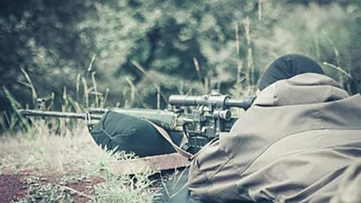 Снайпер бойовиків вбив українського воїна, – волонтер