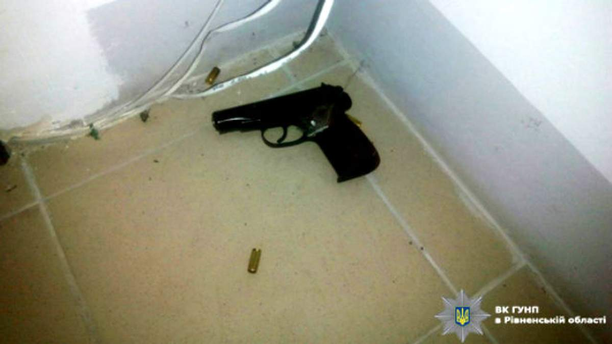 Депутат стрелял из травматического оружия