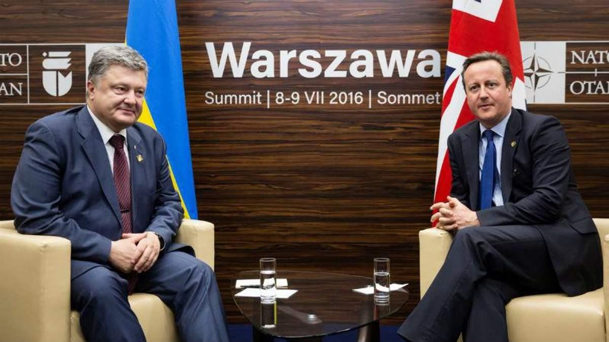 Кэмерон пообещал еще большую помощь Украине