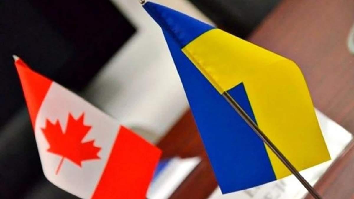 Канада – Украина