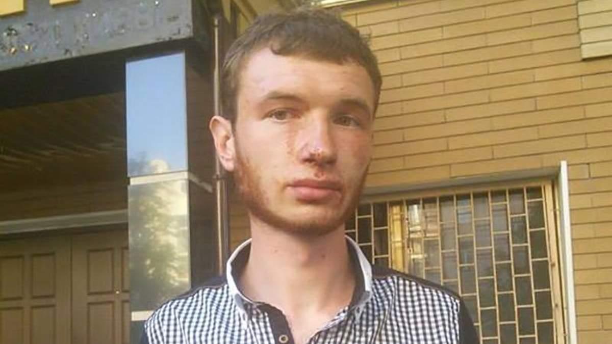 Правоохранители жестоко избили активистов, приехавших поддержать Медведько и Полищука