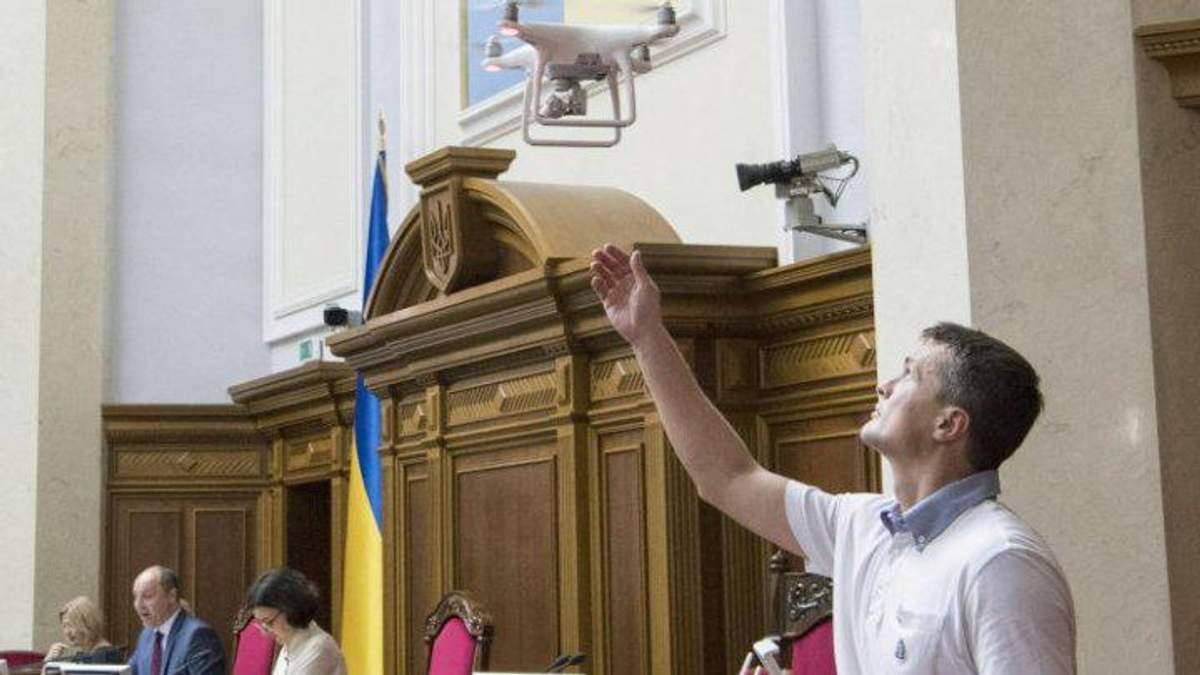 """Даєш бомбардувальник у Раду, – реакція соцмереж на дрон від """"Батьківщини"""""""
