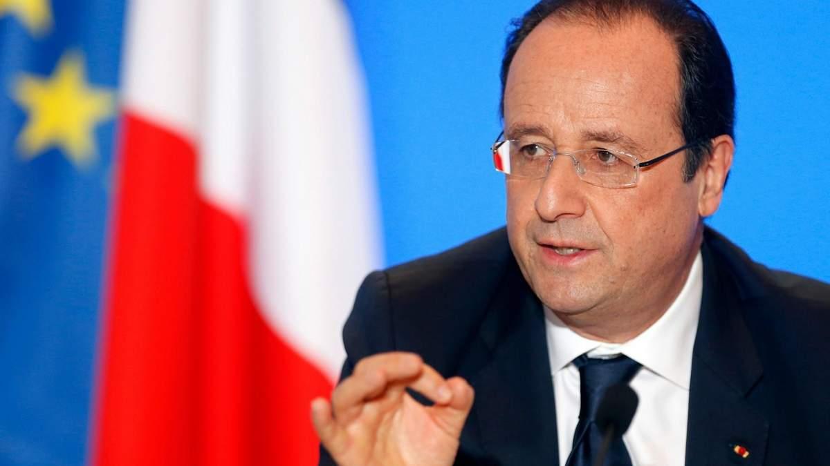 Олланд назвав нову кількість людей у критичному стані після теракту