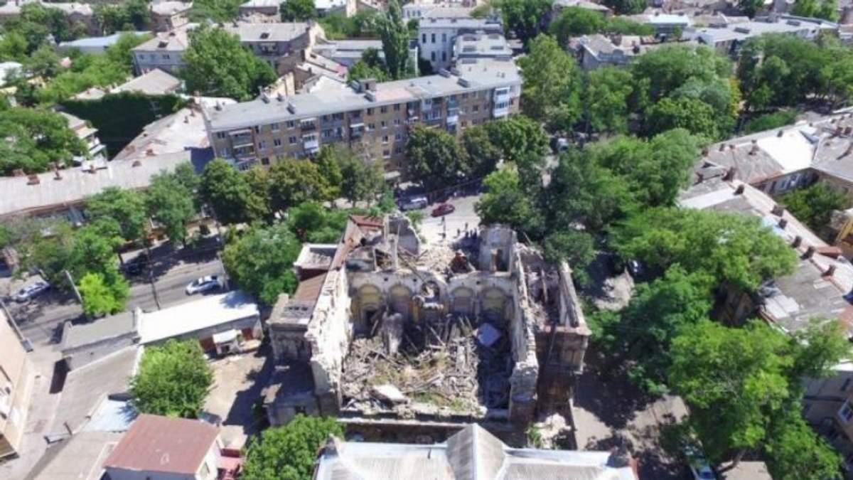 """В Одесі завалився """"Масонський дім"""""""