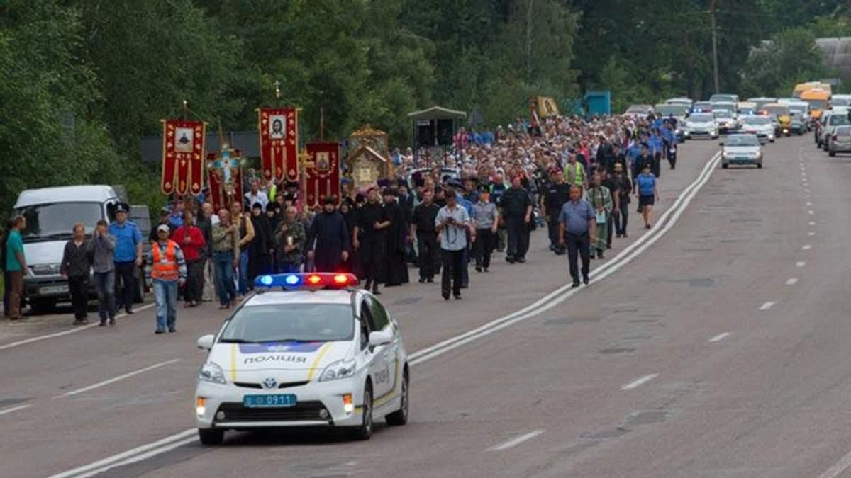 Националисты решили не пускать в Киев ход Московского патриархата, – заявление