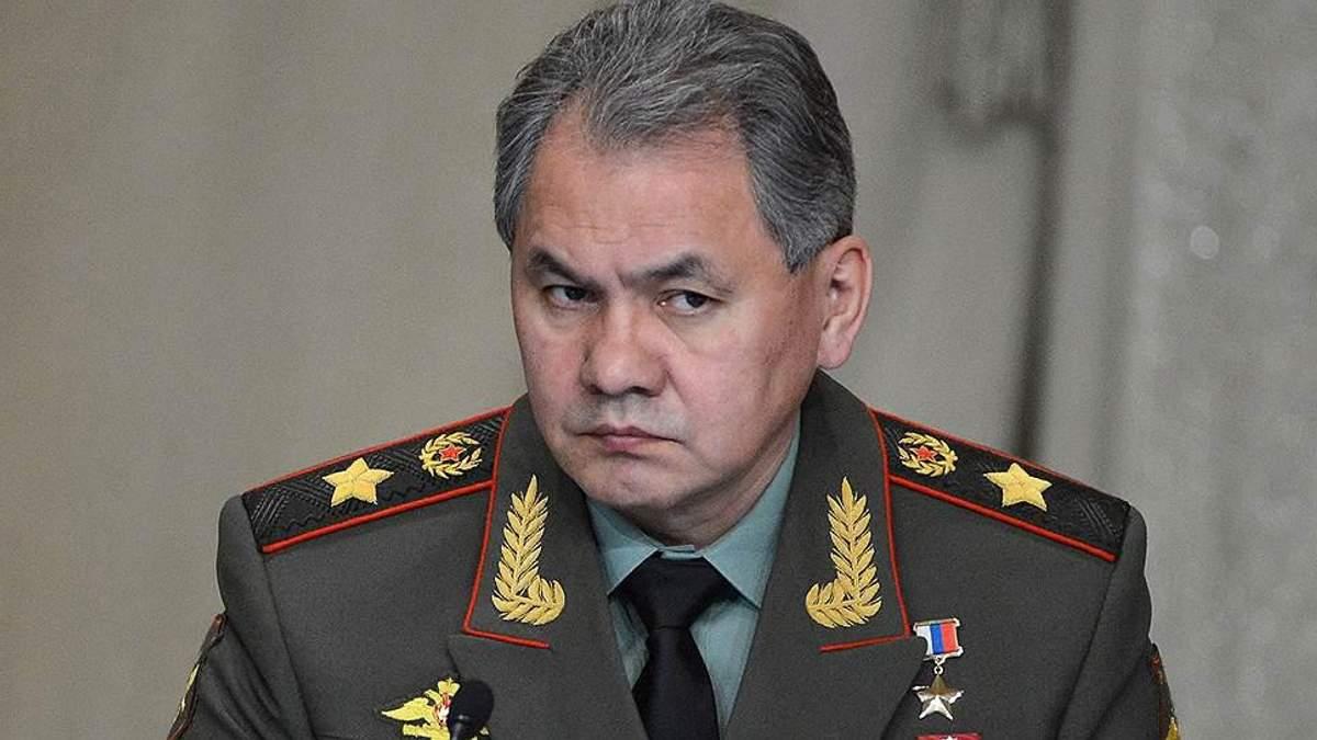 МЗС України надіслало у Кремль ноту протесту через російського міністра оборони