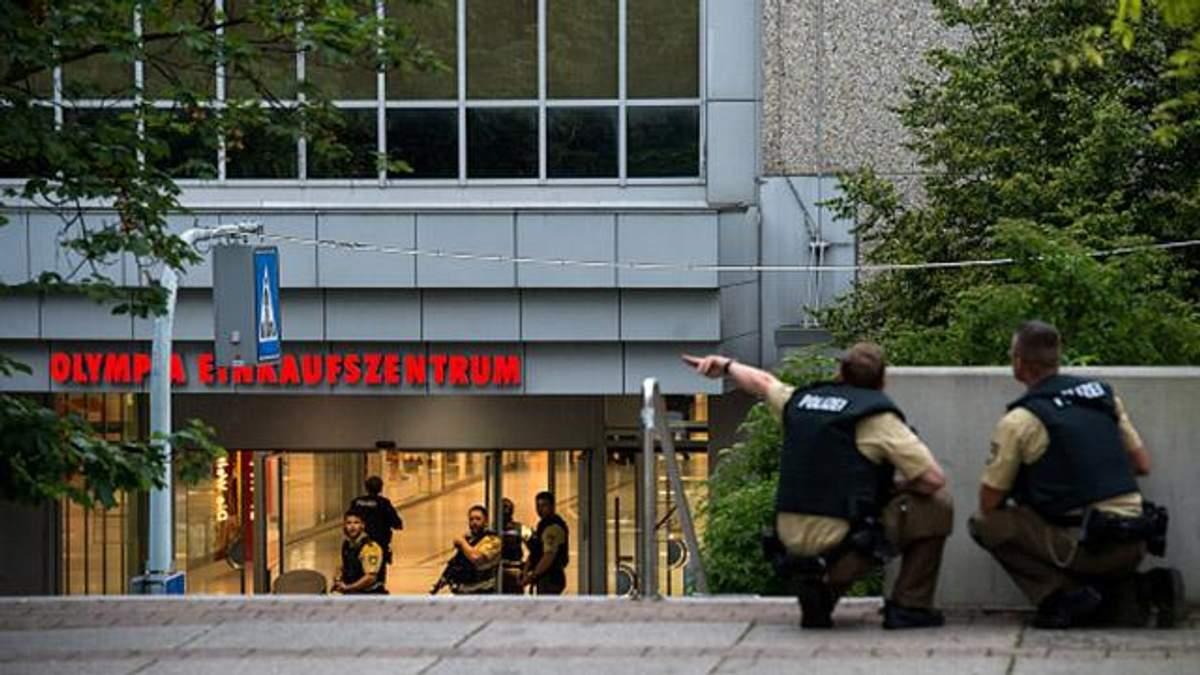 Стрілянина у Мюнхені: загинуло 10 людей, ще 20 – поранені