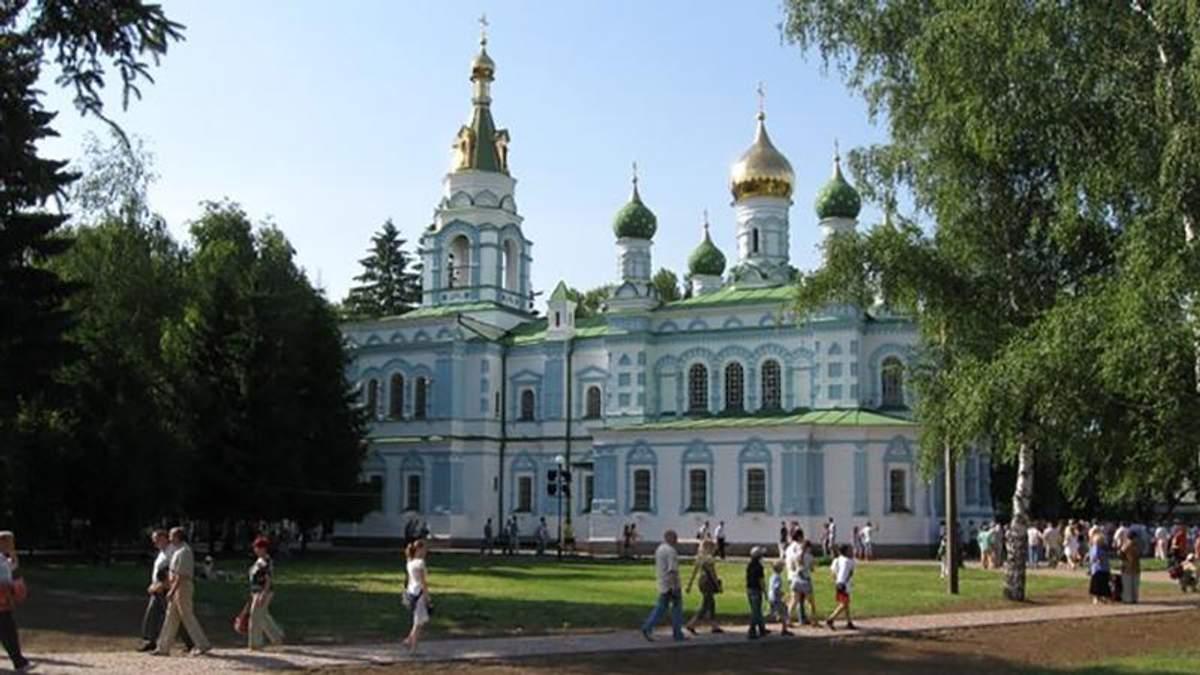 Церкву московського патріархату прикрасили антиукраїнською символікою у Полтаві