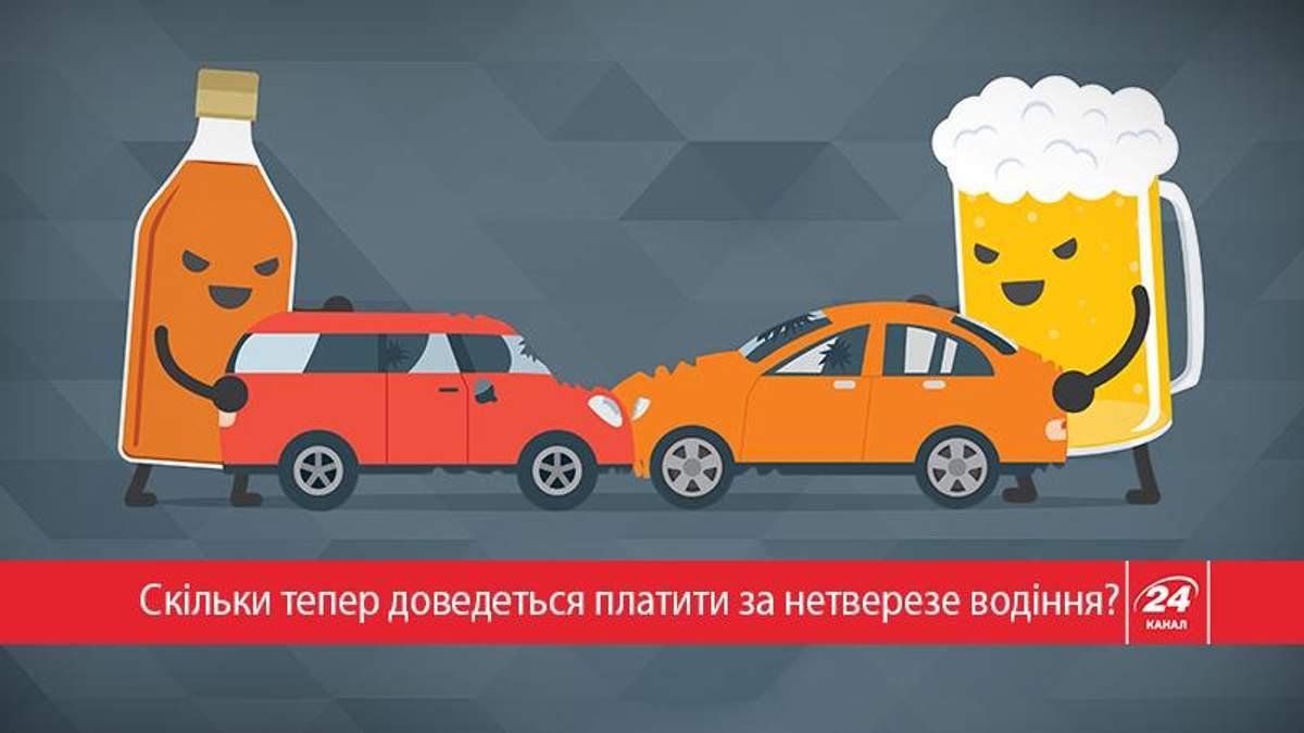 Як штрафуватимуть п'яних водіїв на українських дорогах: усе, що про це треба знати