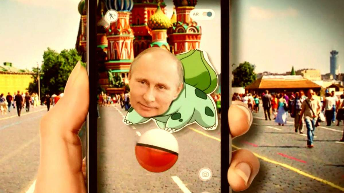 Як Путін став головним покемоном Росії?