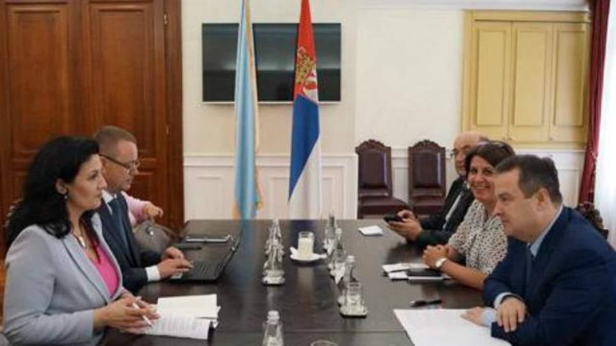 У Сербії божаться, що не визнають російського Криму
