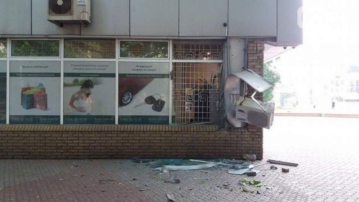 В центре Запорожья ночью прогремел взрыв